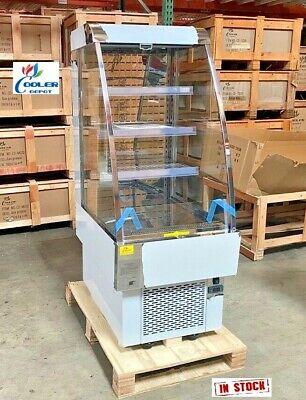 New 24 Open Air Refrigerator Cooler Sandwich Cafe Dessert Beverage Display Nsf