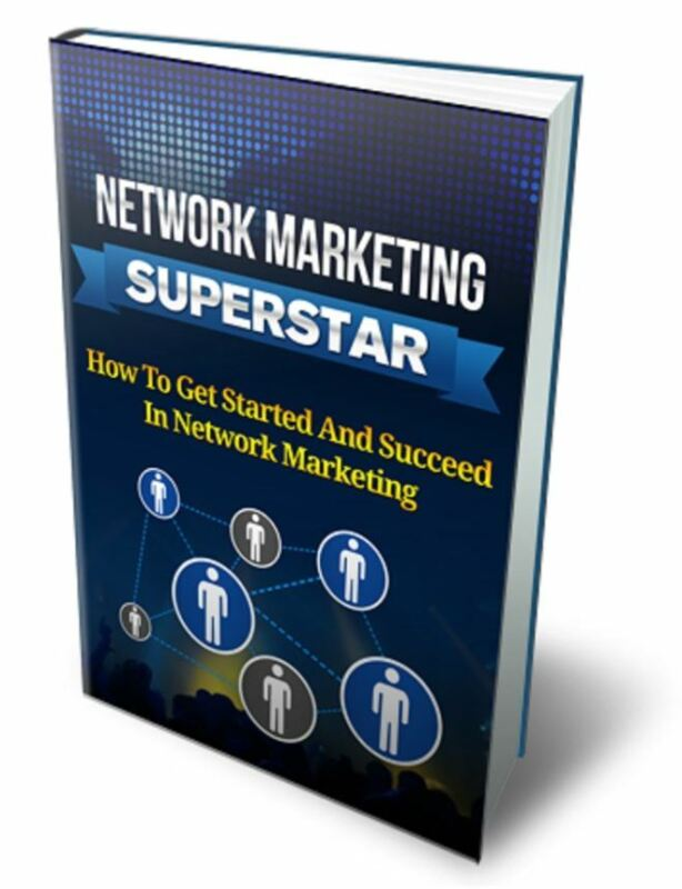 Network Marketing Superstar PDF MLM Direct Selling EBOOK w/ MASTER RESELL RIGHTS