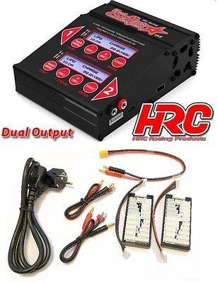 HRC HRC9361 Dual-Star Ladegerät max. 2 x 10A / 100 Watt - Neu / Ovp