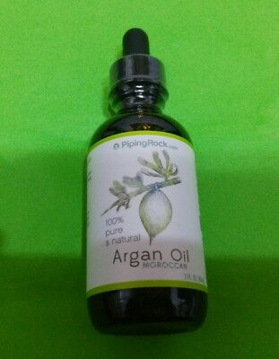 Aceite Argan Marroqui 100% Organico Puro 2 fl OZ (60 ml) PIPING...