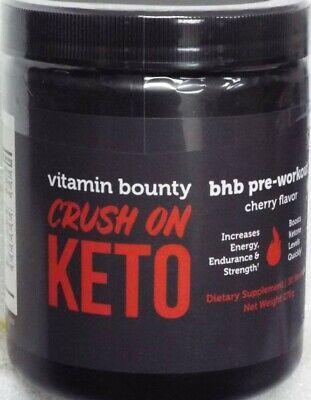 Vitamin Bounty Crush on Keto BHB Pre-Workout - 30 Servings /