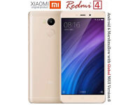 "Original Xiaomi Redmi 4X PRO 3GB RAM 32GB ROM SD 435 Octa Core CPU 5"" 13MP Fingerprint MIUI 9 GPS"