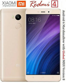 Original Xiaomi Redmi 4 PRO 3GB RAM 32GB ROM SD 625 Octa Core CPU 5 inch 13.0mp Fingerprint MIUI 8.1