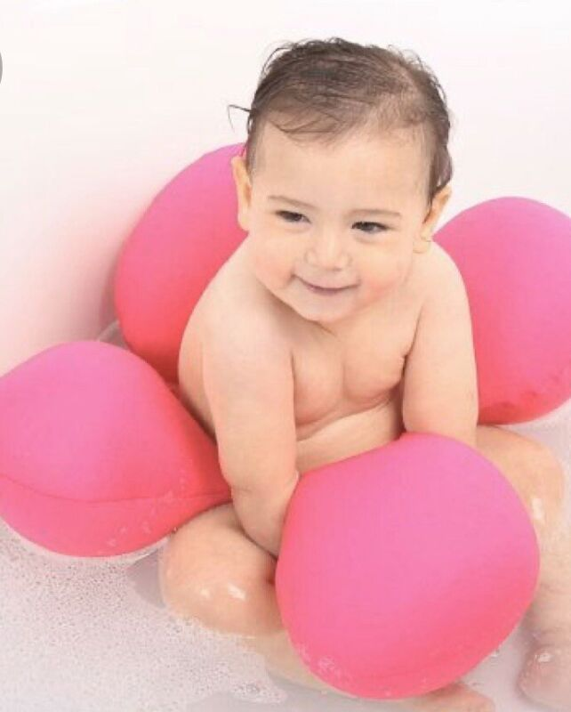 Pomfitis Papillon Baby Wearable Bath Safety Floating Ring Chair Seat Support