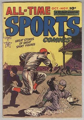 All-Time Sports #7 October 1949 VG History of Golf