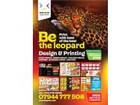 Pizza Posters design & printing