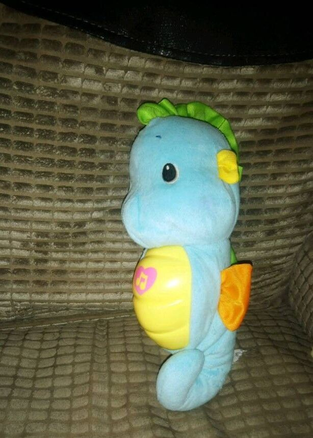 Soothe and glow seahorse
