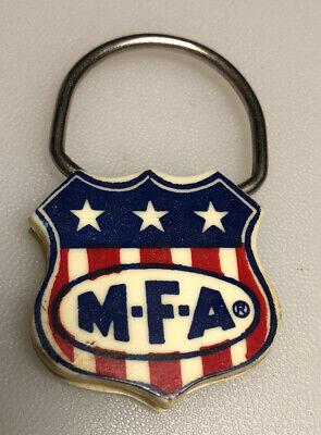 Missouri Farmers Association MFA Ag Agriculture Farming Seeds Keychain Vintage