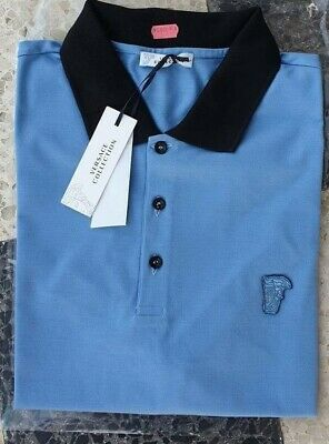 NWT Authentic Versace Collection  Medusa Polo Size M