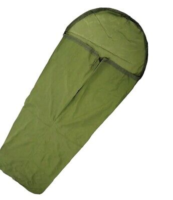 BRITISH ARMY SURPLUS BIVI BAG GORETEX OLIVE GREEN BIVVY CADET GRADE 1