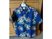 Boys Hawaiian summer shirt