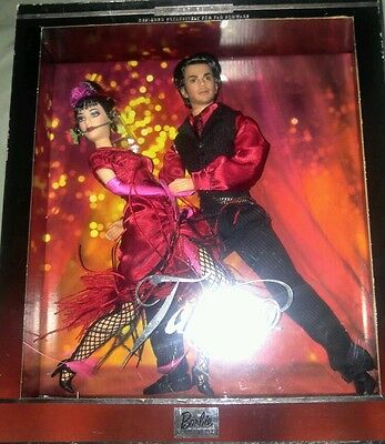 The Tango Dance Barbie & Ken Doll Together worn box but SEALED inside free shpng