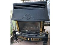 Traditional style gas fire
