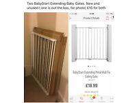 2 x Babystart extendable gates New