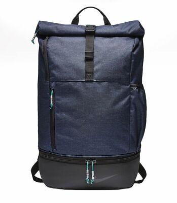 Nike Modern Sports Backpack Obsidian Navy Blue Black BA5743-451 Golf Soccer Bag