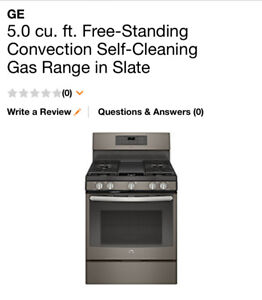 Gas Stove and Range Hood- Brand New Never Used