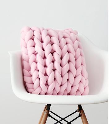 d Sofakissen DIY sperriger Arm Knit Square Kissen DE Fju DE1 (Kissen-diy)