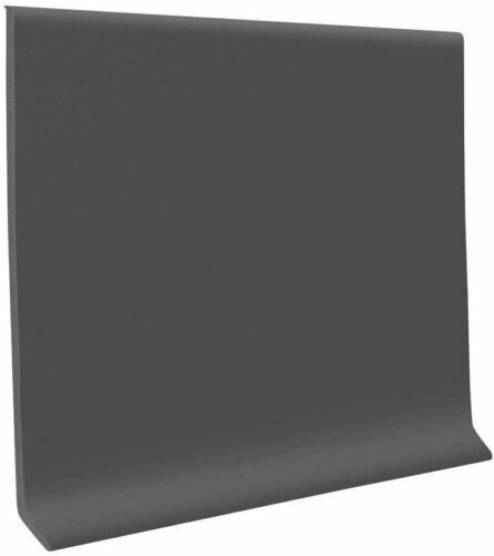 Roppe 700 Series 1/8 in x 6 in x 120 ft Wall Cove Base Coil Charcoal