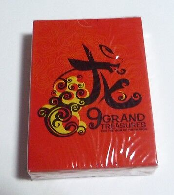 MALAYSIA Playing Cards TIGER BEER Grand Treasures Chinese New Year 2012 Dragon