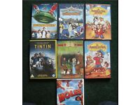 KIDS DVDS . 7in total. £10 for all