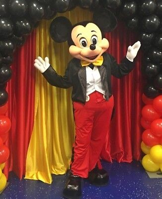 Halloween Mickey Mouse  Mascot Costume Fancy Dress Cartoon Character - Halloween Cartoon Character