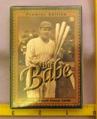 GUYANA 1995  BABE RUTH BASEBALL CARD, STAMPS MINT COMPLETE  for sale  Shipping to Canada