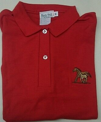 """***CLEARANCE OFFER***PERSONALISED /""""JUMPING Design/"""" Embroidered Polo Shirt"""