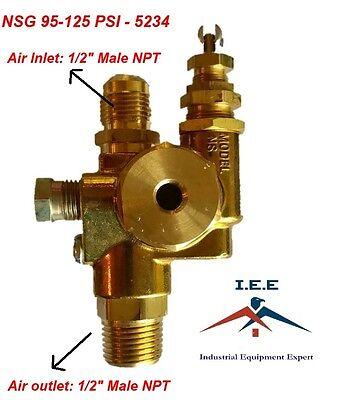 Air Compressor Pilot Unloader Check Valve Combo 95-125 Psi Nsg-95-125-5234