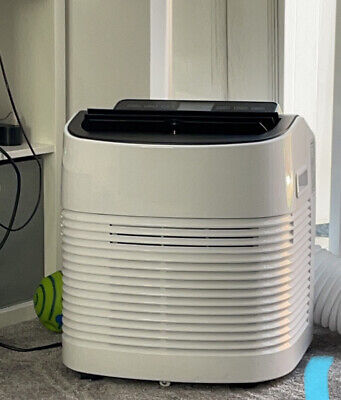 ElectriQ Compact 9000 BTU Small and Powerful Portable Air Conditioner - White