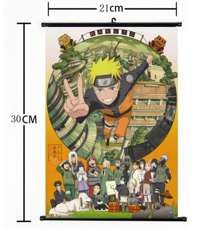 Japan Anime Naruto home decor Wall Scroll Poster 448