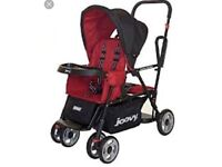 Joovy double pushchair (baby and toddler)