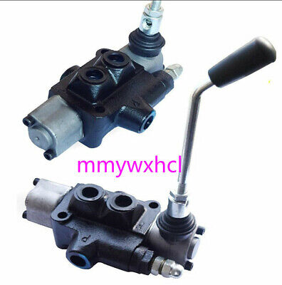 1pc Hydraulic Log Splitter Directional Control Two-way Positioning Valve Dbl-40l