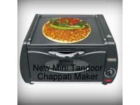 Mini table Top Tandoor Oven (Lahmacun, Naan, Chapati, Roti Maker, tandoori ) New