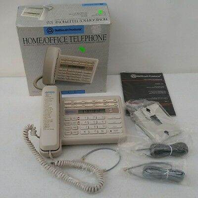 2 Line - Bellsouth Homeoffice 20 Auto Dial Memory Setting Landline Telephone