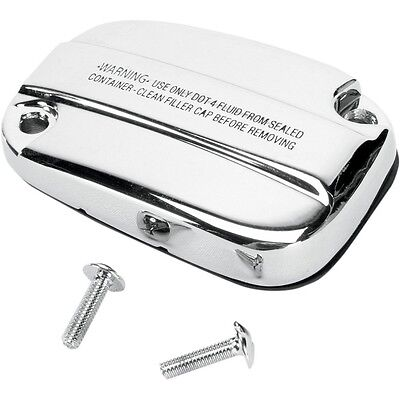 Chrome Front Brake and Clutch Master Cylinder Covers For Harley Touring