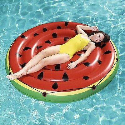 Bestway Inflatable Swimming Pool Float Watermelon Island Raft Water Fun Play Toy