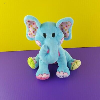 Blue Elephant Stuffed Animal (Plush Blue Elephant Stuffed Animal Baby Toy 8