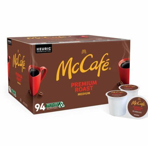 KEURIG McCafe Premium Roast Medium K-Cup Coffee Pods(94 CT)