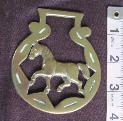 Vtg./Antique Horse Brass/Trotting Horse
