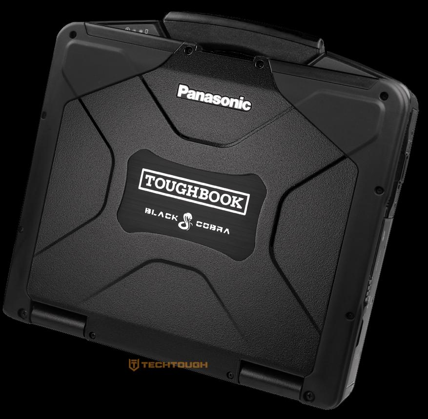 BLACK COBRA Panasonic Toughbook CF-31 • GPS • 16GB • 480GB SSD • WIN 7 or 10