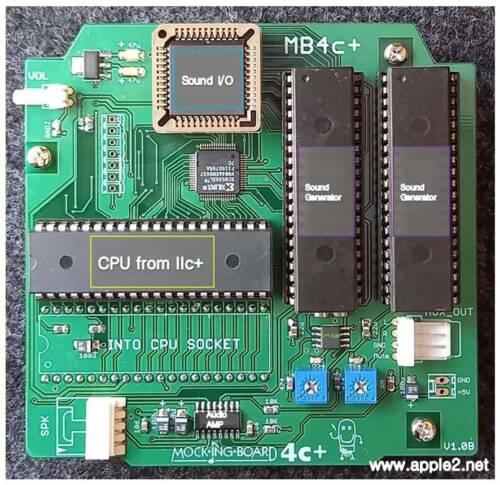 Mockingboard 4c+ (Mockingboard for APPLE //c)