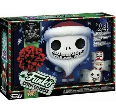 New Funko Nightmare Before Christmas Advent Calendar 24 Pocket Pop Vinyl Figure