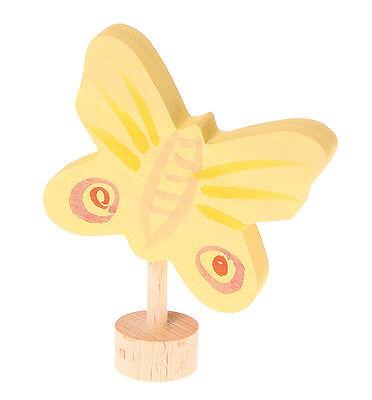 Grimm's  Grimm Stecker gelber Schmetterling 03313 für Geburtstagsring + BONUS