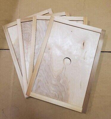 Cedar 8 Frame Bee Hive Inner Cover Langstroth Beehive Box Of 4