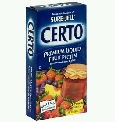 Certo Sure Jell Kraft Baking and Canning Premium Liquid Fruit Pectin CLEARANCE