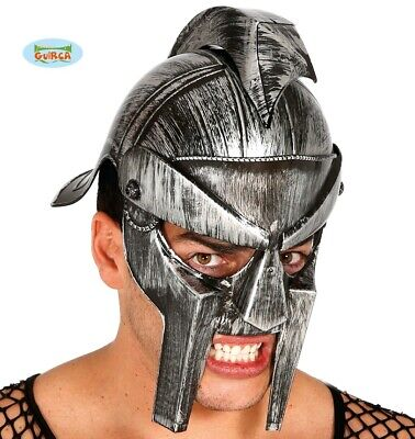Herren Römer Gladiator Helm Kostüm Helm Römischer Helm Neu Fg. (Herr Helm Kostüm)