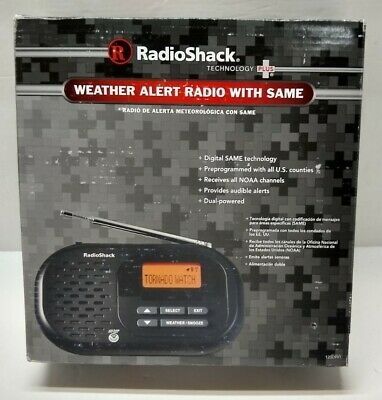 Radio Shack Weather Alert Radio w/SAME *NEW* NOAA
