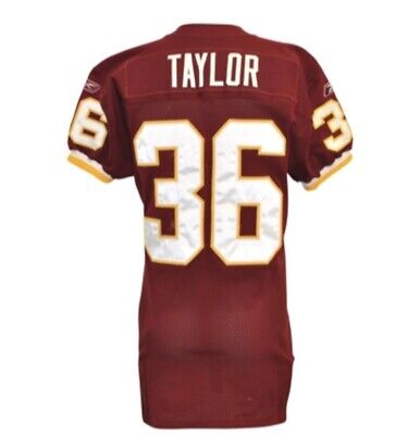 huge discount 39c59 1c828 Sean Taylor Game Used Jersey Rookie Year #36