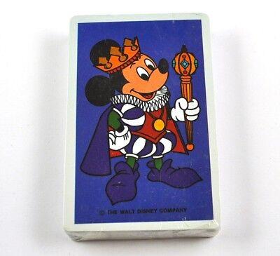 Disney's Micky Maus Spielkarten Karten USA Kartenspiel blau