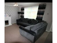 Lovely genuine DFS corner sofa only 1 year old! Bargain!